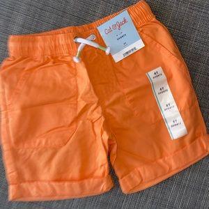 Cat & Jack Orange Shorts